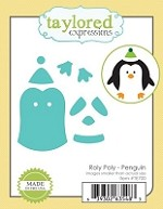 Taylored Expressions - Cutting Die - Roly Poly Penguin