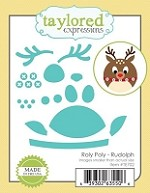 Taylored Expressions - Cutting Die - Roly Poly Rudolph