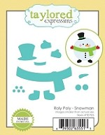 Taylored Expressions - Cutting Die - Roly Poly Snowman