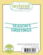 Taylored Expressions - Cutting Die - Season's Greetings Banner