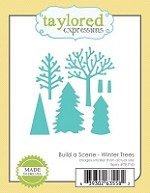 Taylored Expressions - Cutting Die - Build a Scene Winter Trees