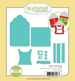 Taylored Expressions - Cutting Die - Trim The Tag