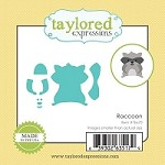 Taylored Expressions - Cutting Die - Little Bits Raccoon
