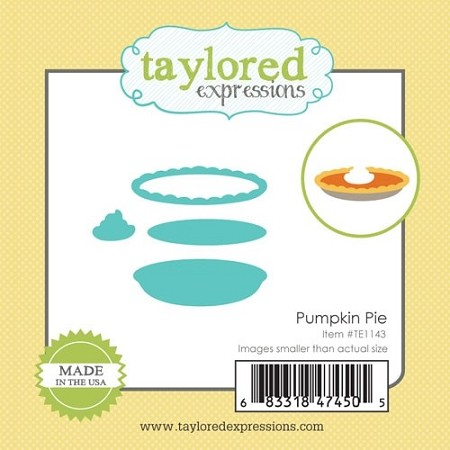 Taylored Expressions - Cutting Die - Little Bits Pumpkin Pie