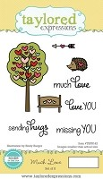 Taylored Expressions - Cling Mounted Rubber Stamp - Much Love