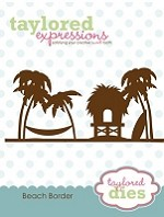 Taylored Expressions - Cutting Die - Beach Border