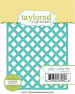 Taylored Expressions - Die - Lattice Cutting Plate