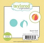 Taylored Expressions - Cutting Die - Little Bits Beach Ball