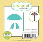 Taylored Expressions - Cutting Die - Little Bits Beach Umbrella