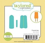 Taylored Expressions - Cutting Die - Little Bits Popsicles