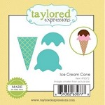 Taylored Expressions - Die - Little Bits Ice Cream Cone