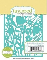 Taylored Expressions - Die - Gathered Blooms Cutting Plate