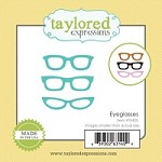 Taylored Expressions - Cutting Die - Little Bits Eyeglasses