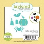 Taylored Expressions - Cutting Die - Little Bits Halloween Scene
