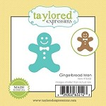 Taylored Expressions - Die - Little Bits Gingerbread Man