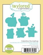 Taylored Expressions - Cutting Die - Valentine Grumplings