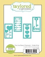 Taylored Expressions - Cutting Die - You've Been Framed Valentine