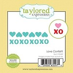 Taylored Expressions - Cutting Die - Little Bits Love Confetti