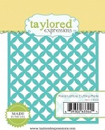 Taylored Expressions - Cutting Die - Floral Lattice Cutting Plate