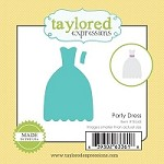 Taylored Expressions - Cutting Die - Little Bits Party Dress