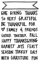 Technique Tuesday Clear Stamp - Giving Thanks Banners