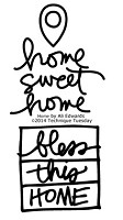 Technique Tuesday - Clear Stamp - by Ali Edwards - Home