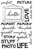 Technique Tuesday - Clear Stamp - Memory Keepers Studio Perfect Picture
