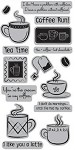 TPC Studio-Cling Stamp-Cafe Mocha