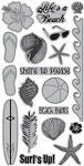 TPC Studio-Cling Stamp-Just Beachy