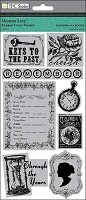 TPC Studio -Memory Lane Collection - Rubber Cling Stamps