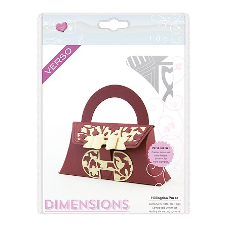 Tonic Studios - Cutting Die - Hillingdon Purse