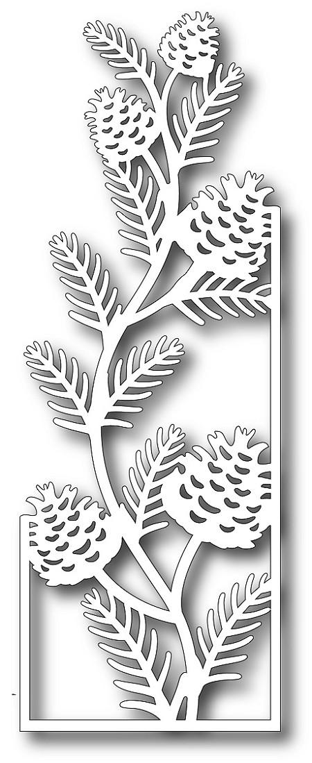 Tutti Designs Cutting Die Pinecone Branch