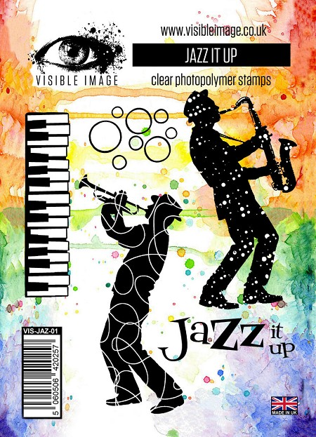 Visible Image - Clear Stamp - Jazz It Up
