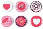 We-R-Memory Keepers - Crazy For You - Mini Badges