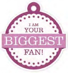 We-R-Memory Keepers - Crazy For You - Embossed Die Cuts - Biggest Fan