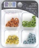 We R Memory Large Eyelets - Bubble Brights