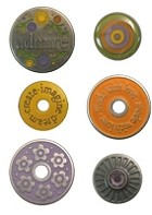 We R Memory Eyelets & Snaps - Pewter Press