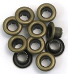 We R Memory Large Eyelets - Antique Brass