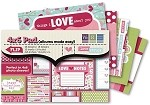"We-R-Memory Keepers Love Struck - 4""x6"" Pad"
