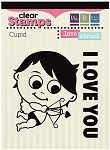 We-R-Memory Keepers Love Struck - Clear Stamps  - Cupid