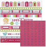 We-R-Memory Keepers Love Struck - Double Sided Cardstock - My Valentine