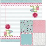We-R-Memory Keepers Love Struck - Double Sided Cardstock - Love Notes