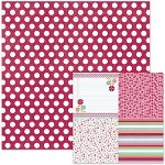 We-R-Memory Keepers Love Struck - Double Sided Cardstock - Smitten