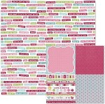 We-R-Memory Keepers Love Struck - Double Sided Cardstock - Forever