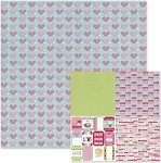 We-R-Memory Keepers Love Struck - Double Sided Cardstock - Arrow