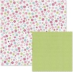 We-R-Memory Keepers Love Struck - Double Sided Cardstock - Cutie Pie