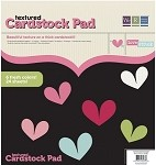 We-R-Memory Keepers Love Struck - Textured Cardstock Pad