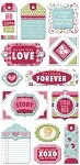We-R-Memory Keepers Love Struck - Layered Chipboard Tags