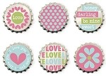 We-R-Memory Keepers Love Struck - Bottlecaps