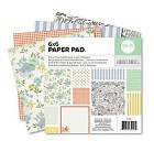"We-R-Memory Keepers - Farmers Market Collection - 6""x6"" Paper Pad"